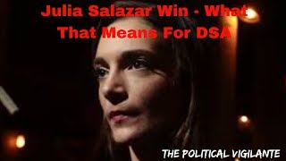 DSA's Salazar Beat Incumbent For NY State Senate - The Political Vigilante