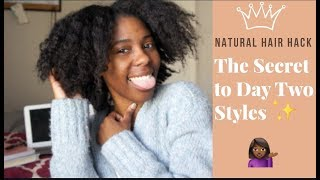 Banding Method on Natural Hair