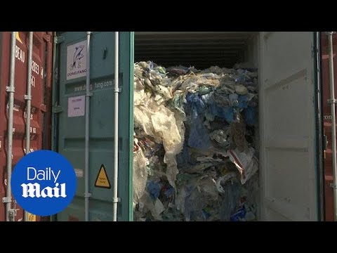 Malaysia to return 3,000 tonnes of plastic waste to UK and US