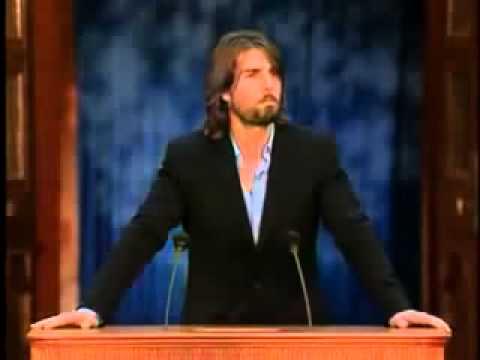 """Tom Cruise erklärt Scientologys """"Study Tech"""" (deutsche Untertitel)"""