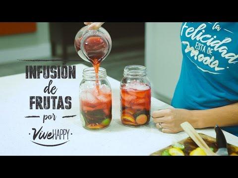 Infusion de Frutas y Te / / Vive Happy ViveHappy