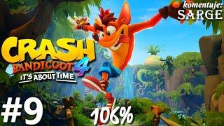 Zagrajmy w Crash Bandicoot 4: Najwyższy Czas (106%) odc. 9 - Bez balansu
