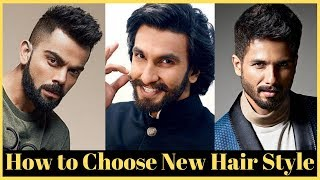 Choose The Best Hairstyle For Your Face Shape For Men: Hairstyle According To Face Shape For Men