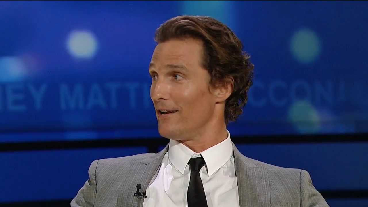 Matthew McConaughey 2011 Interview on George ...