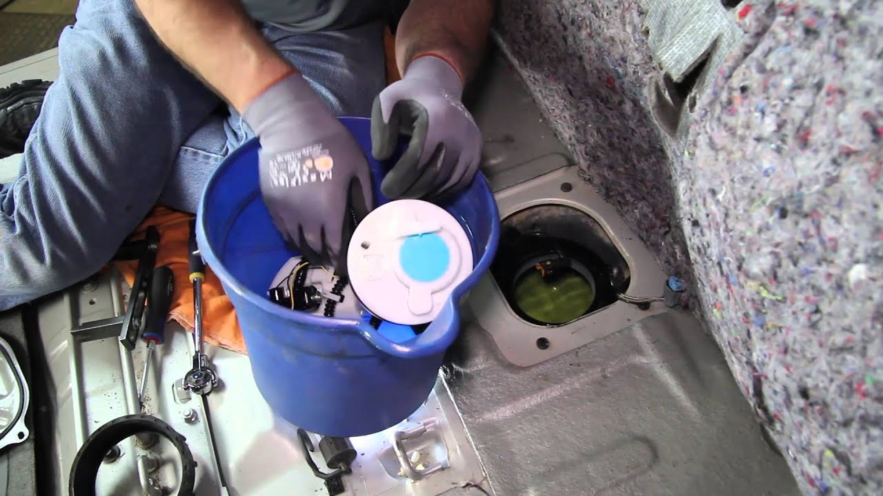 how to install fuel pump assembly e9244m in a 2005