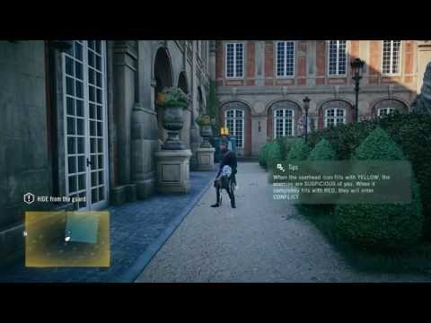 [PS4] Assassin's Creed: Unity - Memory of Versailles - Sequence #1 - Memory #1 | Walkthrough (1080p)