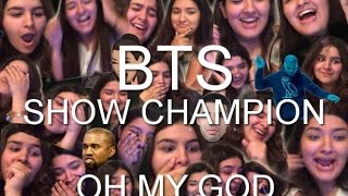 bts am i wrong 21st century girls blood sweat tears comeback stage reaction extra af