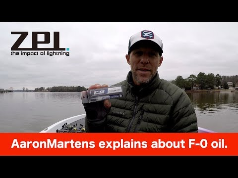 BASS Elite Series Pro AaronMartens explains about f-0 oil.