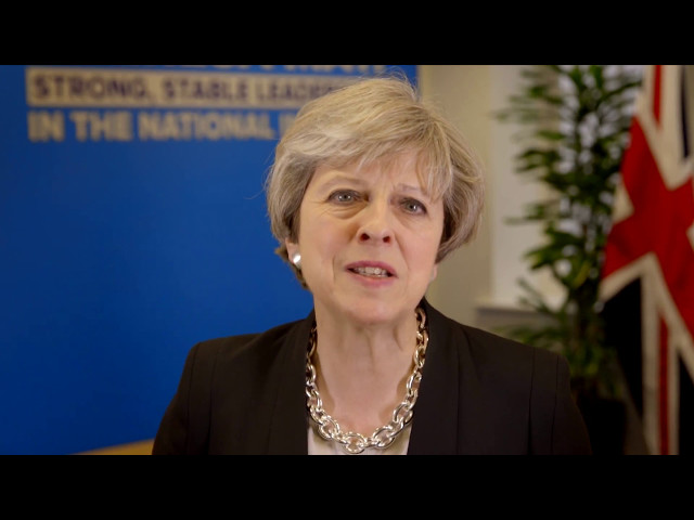 Special Message from UK Prime Minister Theresa May at India Inc. UKIndiaAwards 2017