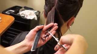 A line Bob Haircut // Short Hair Tutorial // Hair 101