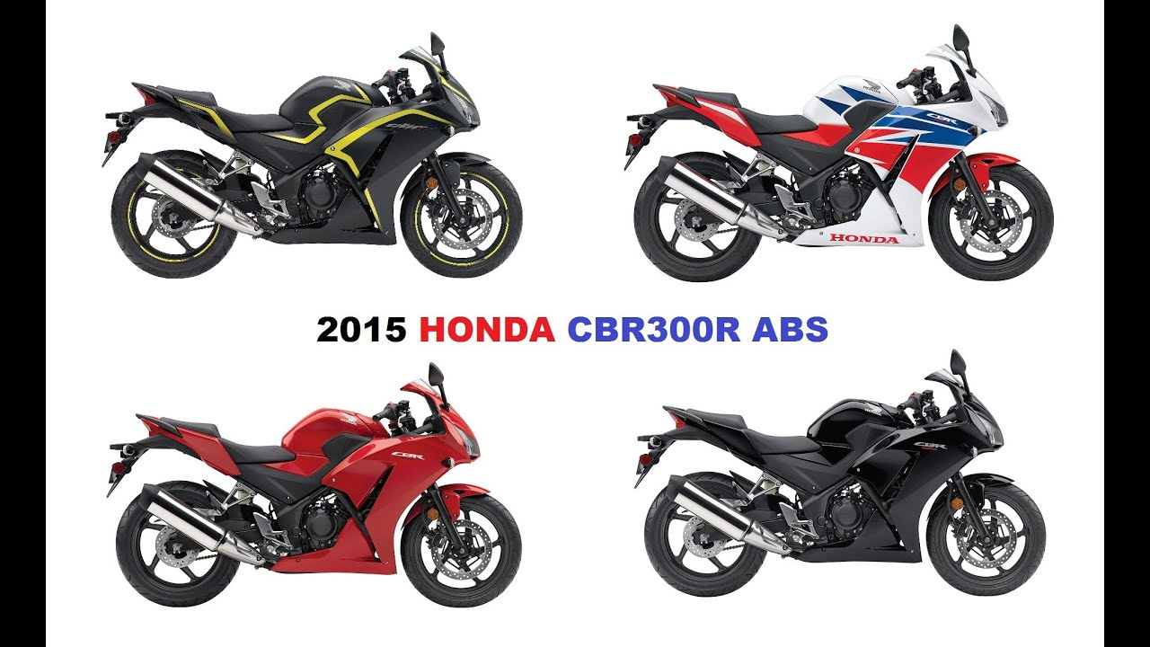 2015 HONDA CBR300R ABS Fresh New Look And Arrives In