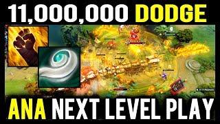$11,000,000 Dodge - How Ana Dodge All Skills Perfectly in TI8