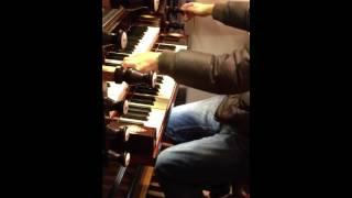 "Peter wildeman tijdens ""thoolse organistendag"""