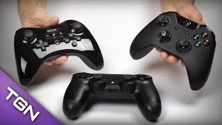 8th Generation Controller Comparison (PS4, Xbox One, & Wii U)