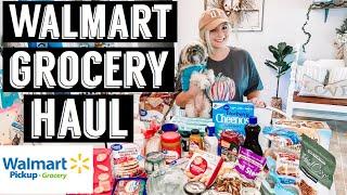 WALMART GROCERY HAUL   WALMART GROCERY APP   MEAL IDEAS