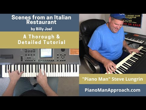 Scenes from an Italian Restaurant (Billy Joel), Free Tutorial!
