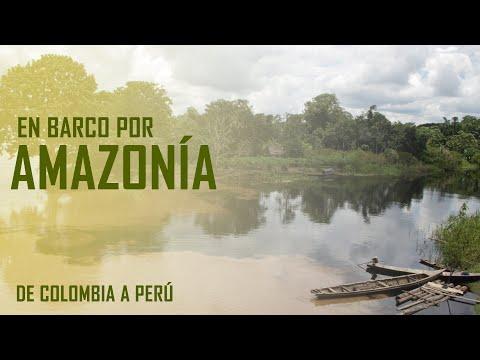 Barco desde Leticia (Colombia) hacia Iquitos (Perú).