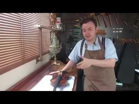 AJUSTE DE VIOLINO ANTONI MARSALE-SONORIZAÇÃO-Atelier de violinos em São Paulo-Luthier de violinos