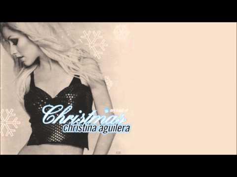 Christina Aguilera - The Christmas Song (Holiday Remix) + Lyrics