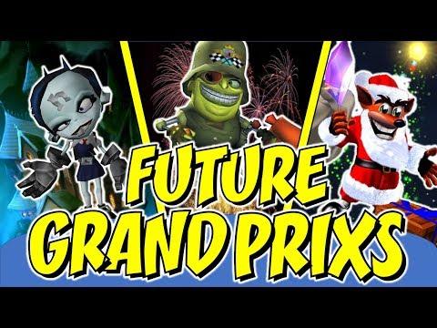 Crash Team Racing Nitro Fueled - Future Grand Prix's Leaked, All Data-mined Info