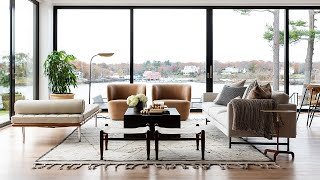 Rye, New York Project: The Living Spaces