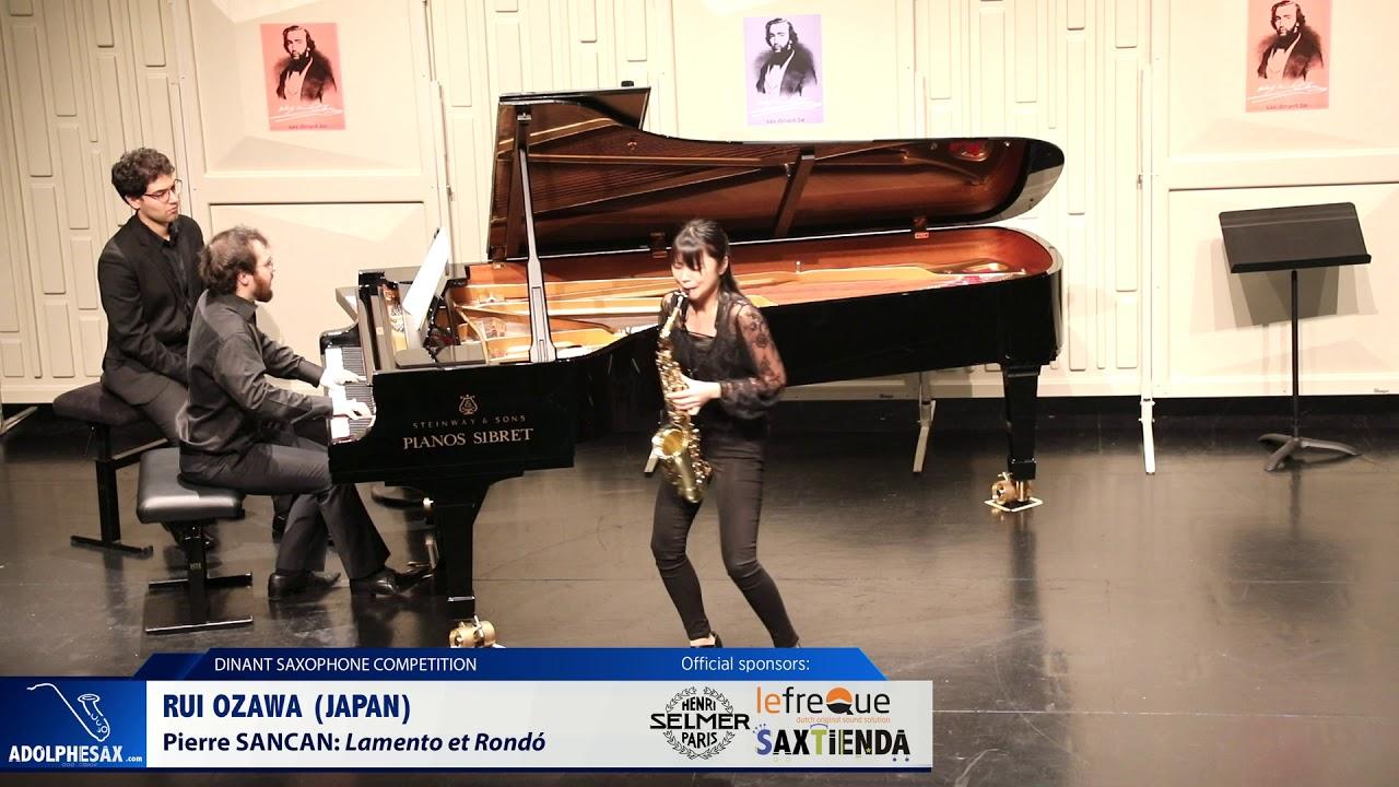 Rui Ozawa (Japan) - Lamento et Rondó by Pierre Sancan (Dinant 2019)
