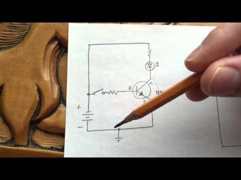 NPN vs. PNP Transistors as Common-Emitter Switches