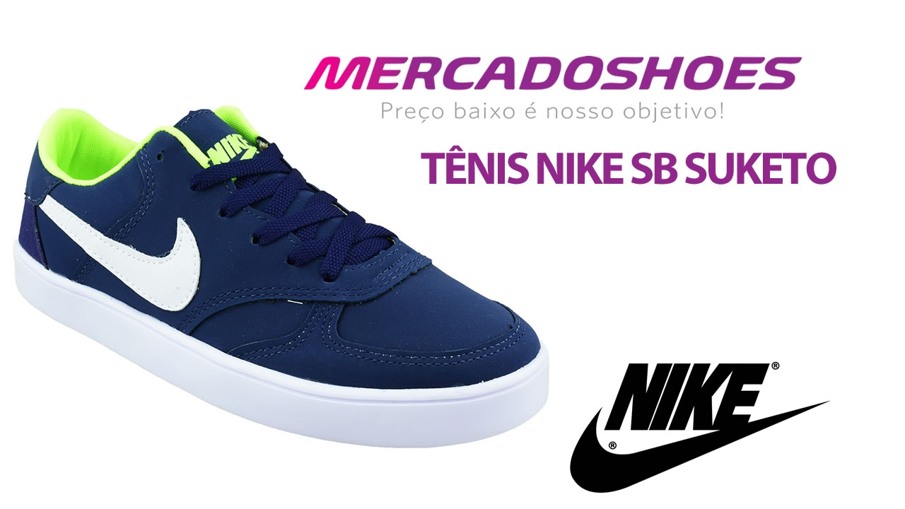 debfd7ef60b Tênis Masculino Nike SB Suketo - Atacado e Varejo - Mercado Shoes ...