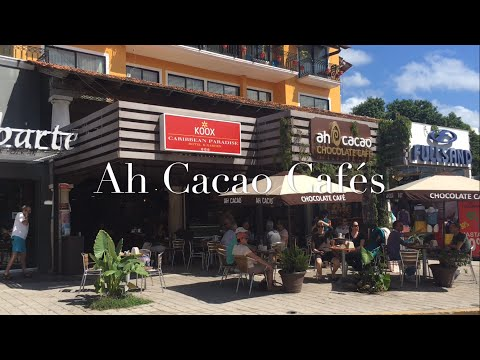 Ah Cacao cafes in Playa Del Carmen