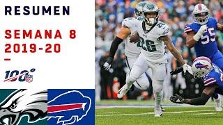 Eagles acabó con la mentira de los Bills con tremenda paliza   Highlights Eagles vs Bills