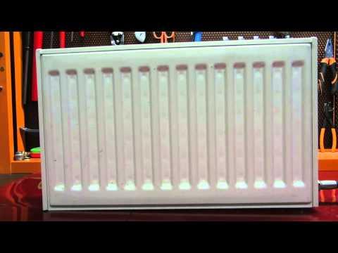 Испытание радиатора PURMO Финляндия. Стальные радиаторы отопления
