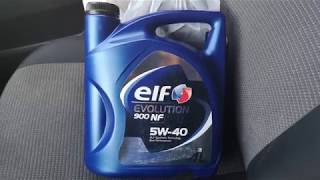 Моторное масло Elf Competiton Evolution 5 w-40 ,мини обзор