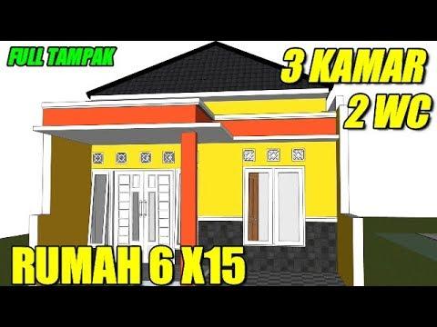 55 Foto Desain Rumah Minimalis Modern Ukuran 6X15 Terbaru Unduh