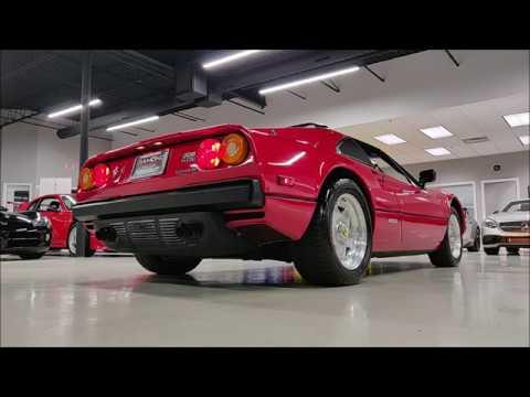 1984 Ferrari 308 GTSi Quattrovalvole 5 Speed Manual! RARE! Startup And Walk Around!