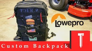 Custom Lowepro Viewpoint BP 250 AW Backpack