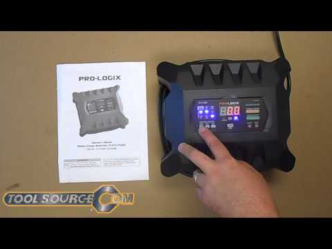 Clore Automotive SOLAR Pro-Logix PL2520 6//12V Battery Charger//Maintainer with...
