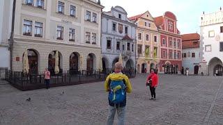 Чешский Крумлов город-музей, основан в 13 веке