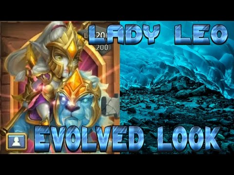 Lady Leo Evolved Look!! Castle Clash