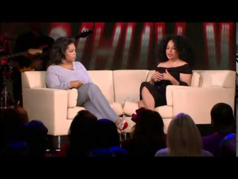 Diana Ross  Oprah  02252011 PART ONE