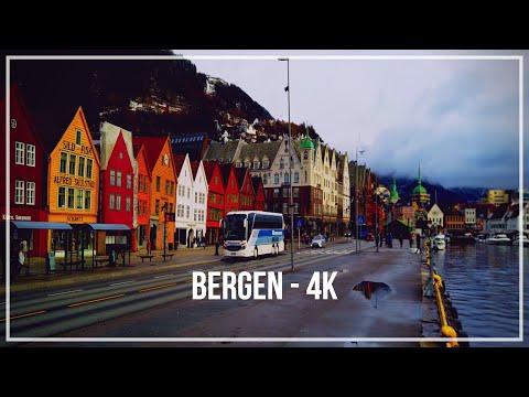 Bergen 4k - Dji Osmo Pocket