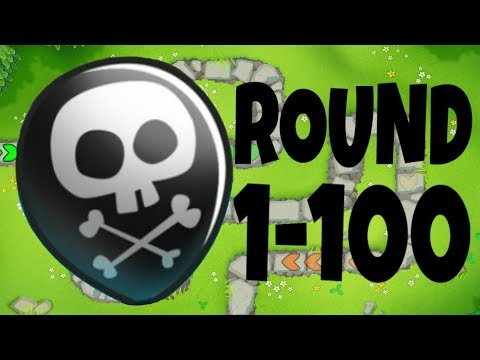 Bloons Tower Defense 6 Apopalypse Mode ROUND 1-100