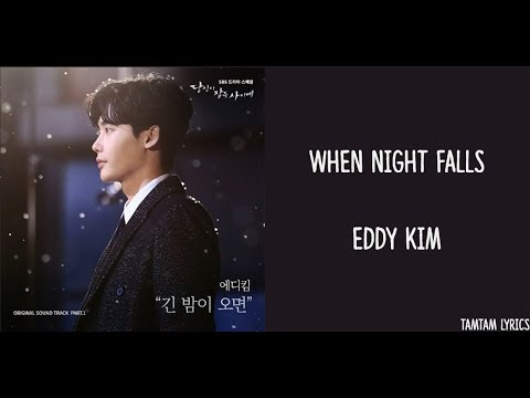 When Night Falls - Eddy Kim Lyrics [Han,Rom,Eng] {While You Were Sleeping OST}