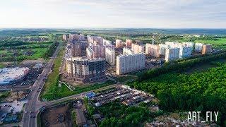 Проспект А. Дериглазова (лето 2017). Аэросъемка. Курск
