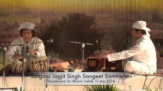 Zakir Hussain @ Satguru Jagjit Singh Sangeet Sammelan, Sri Bhaini Sahib