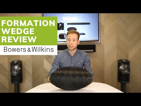 NEW Bowers & Wilkins Formation Wedge 2019 (Hands-on Review)