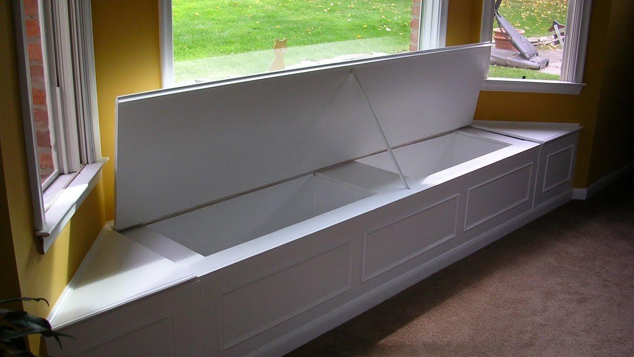 Bay Window Seat Furniture - YouTube