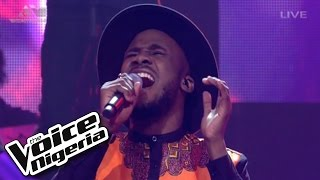 """Dewe' sings """"There's A Fire"""" / Live Show / The Voice Nigeria 2016"""