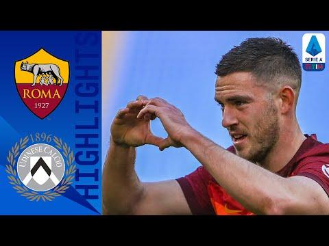 Roma 3-0 Udinese | 3 gol all'Udinese e sorpasso alla Juve: la  Roma riparte | Serie A TIM