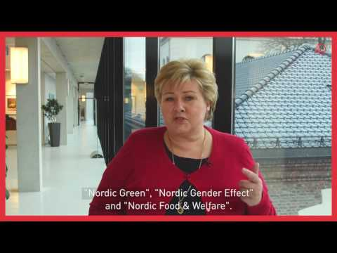 Erna Solberg, Prime Minister of Norway about Nordic Solutions to Global Challenges