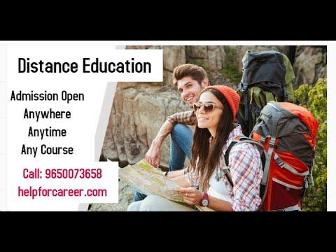 How to Learn Distance Education University IGNOU Subharti Himalayan University Meerut Delhi
